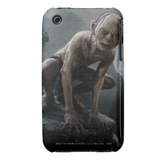 Gollum en una roca Case-Mate iPhone 3 coberturas