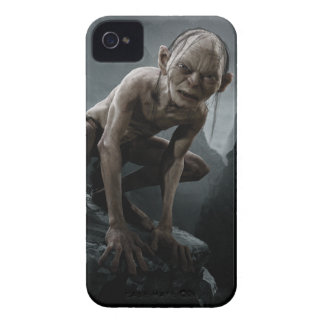 Gollum en una roca Case-Mate iPhone 4 cobertura