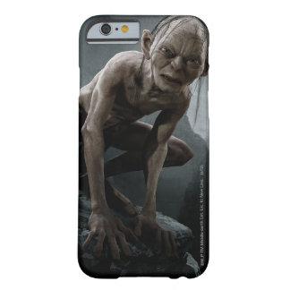 Gollum en una roca funda de iPhone 6 barely there
