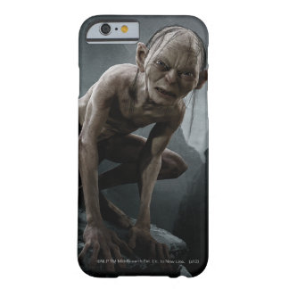 Gollum en una roca funda para iPhone 6 barely there