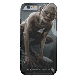 Gollum en una roca funda para iPhone 6 tough
