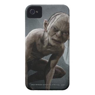 Gollum en una roca iPhone 4 carcasa