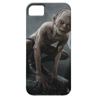 Gollum en una roca iPhone 5 carcasa
