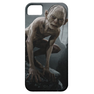 Gollum en una roca iPhone 5 funda