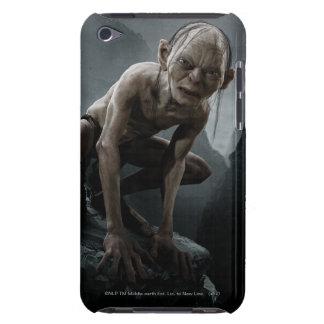 Gollum en una roca iPod Case-Mate carcasa