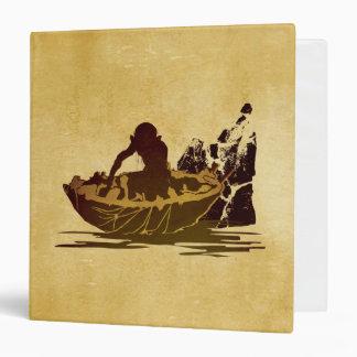 Gollum in a Raft Binder