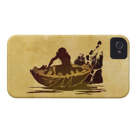 Gollum in a Raft iPhone 4 Case-Mate Case