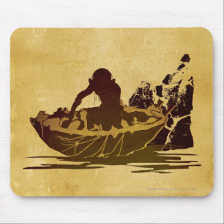 Gollum in a Raft Mouse Pad
