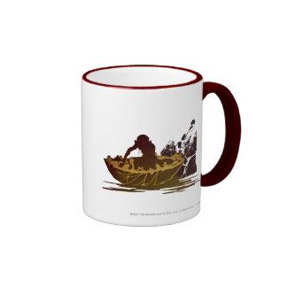 Gollum in a Raft Coffee Mug