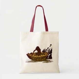 Gollum in a Raft Tote Bag