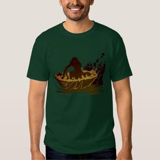 Gollum in a Raft Tshirt