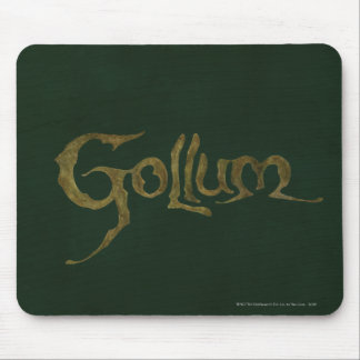 Gollum Name - Textured Mouse Pad