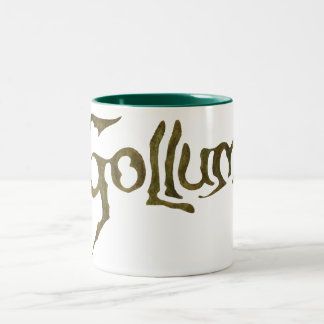 Gollum Name - Textured Coffee Mug