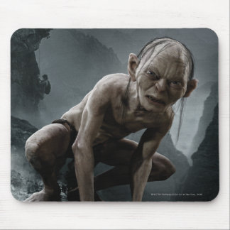 Gollum on a Rock Mouse Pad