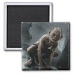 Gollum on a Rock Refrigerator Magnets
