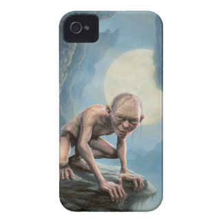 Gollum with Moon iPhone 4 Case