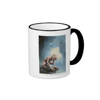 Gollum with Moon Coffee Mug