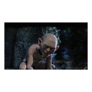 Gollum with Smile Poster