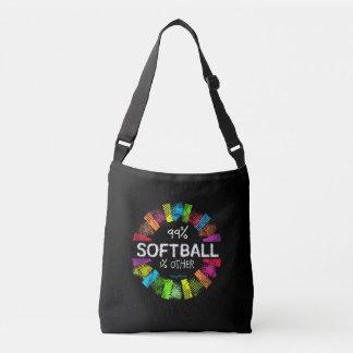 Golly chicas: El 99 por ciento de softball el 1 Bolsa Cruzada