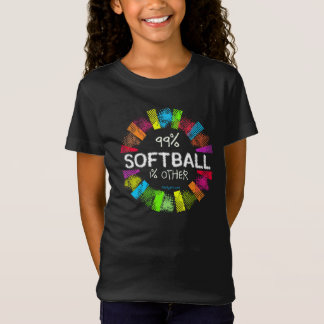 Golly chicas: El 99 por ciento de softball el 1 Playera