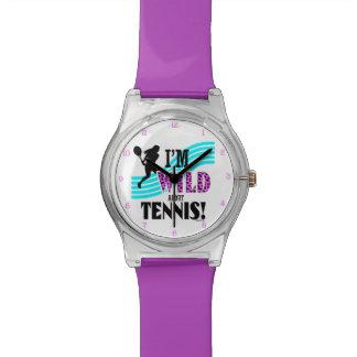 Golly chicas: Soy SALVAJE sobre TENIS Relojes