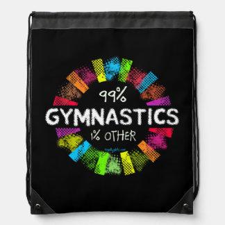 Golly Girls: 99 Percent Gymnastics 1 Percent Other Drawstring Backpack