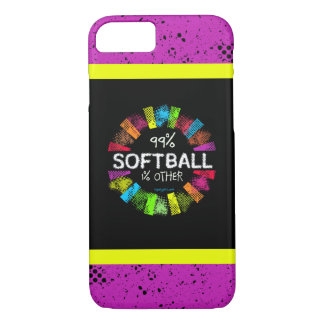 Golly Girls: 99 Percent Softball 1 Percent Other iPhone 8/7 Case