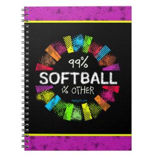 Golly Girls: 99 Percent Softball 1 Percent Other Notebook