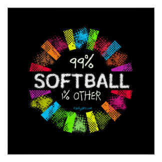 Golly Girls: 99 Percent Softball 1 Percent Other Poster