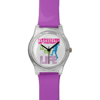 Golly Girls - Basketball is My Life Wrist Watch