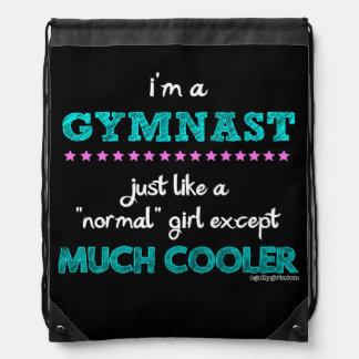 Golly Girls - I'm a Gymnast Drawstring Bag