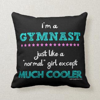 Golly Girls - I'm a Gymnast Throw Pillow