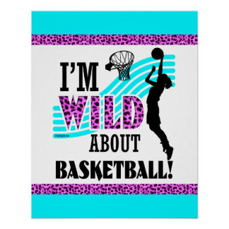 Golly Girls: I'm WILD about Basketball Poster