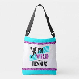 Golly Girls: I'm WILD about TENNIS Crossbody Bag
