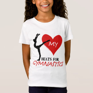 Golly Girls - My Heart Beats for Gymnastics T-Shirt