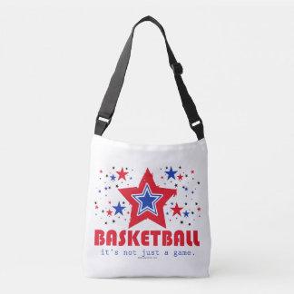 Golly Girls Patriotic USA Stars Basketball Crossbody Bag