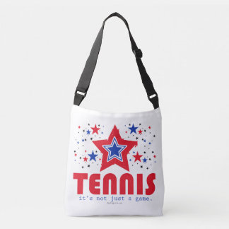 Golly Girls Patriotic USA Stars Tennis Crossbody Bag