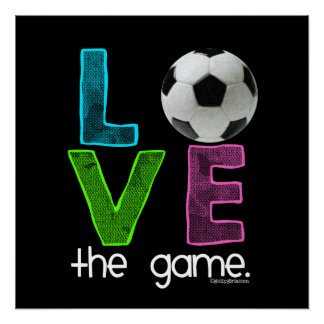 Golly Girls: Soccer   Love The Game Poster