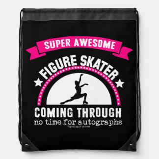 Golly Girls: Super Awesome Figure Skater Drawstring Backpack