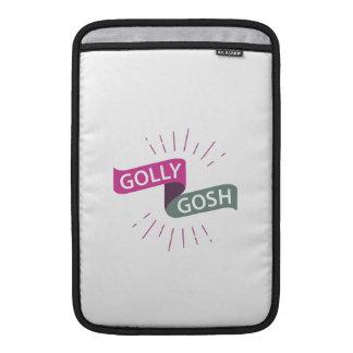 Golly Gosh Funny British Retro Sleeve For MacBook Air