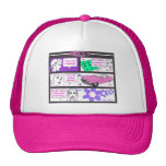 Golly Hat (pink)