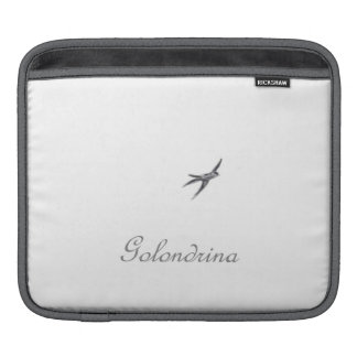 Golondrina - Beautiful Romantic Dreamy iPad Sleeve