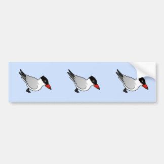 Golondrina de mar caspia de Birdorable Pegatina Para Auto