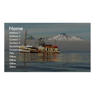Golondrina de mar del Aleutian del m/v Plantillas De Tarjeta De Negocio