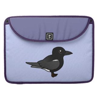 Golondrina de mar negra de Birdorable Funda Macbook Pro