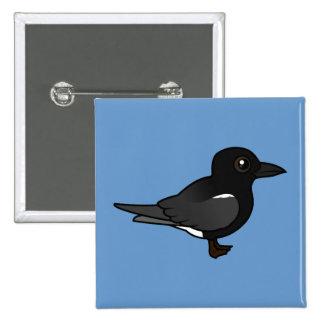 Golondrina de mar negra de Birdorable Pins