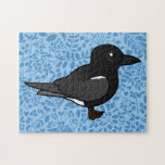 Golondrina de mar negra de Birdorable Rompecabezas
