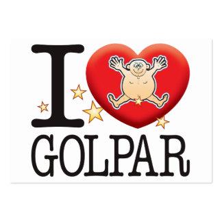 Golpar Love Man Large Business Card