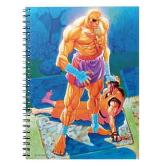 Golpe Dan de Sagat Spiral Notebook