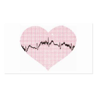 Golpe de corazón III Plantillas De Tarjetas Personales